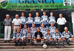 2000. Juniorzy - ostatni mistrzowie okręgu z sezonu 1999-2000