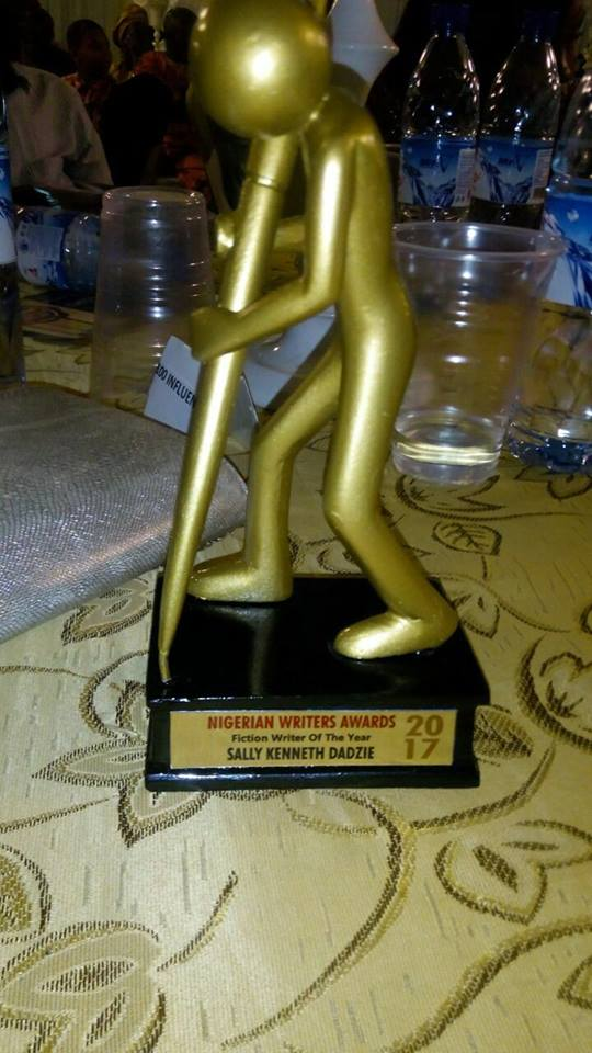fiction writer of the year award