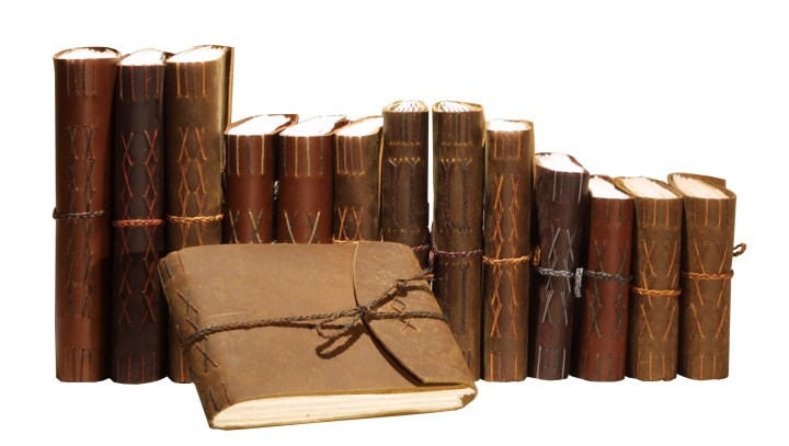 guest book with spines