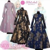 Baju Pesta Lovina Dress Versi Baju Artis Inneke Koesherawati dan Baju Aris Risty Tagor (made by order)