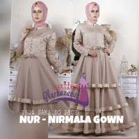 Kebaya Pesta dan Kebaya Lamaran Muslimah Nirmala Gown (made by order)