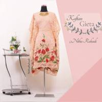 Kaftan Pesta Artis Lady Gigi - Kaftan Gieta (made by order)
