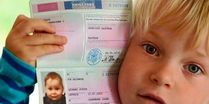 Дети до 14 лет для загранпаспорта копии документов уфмс