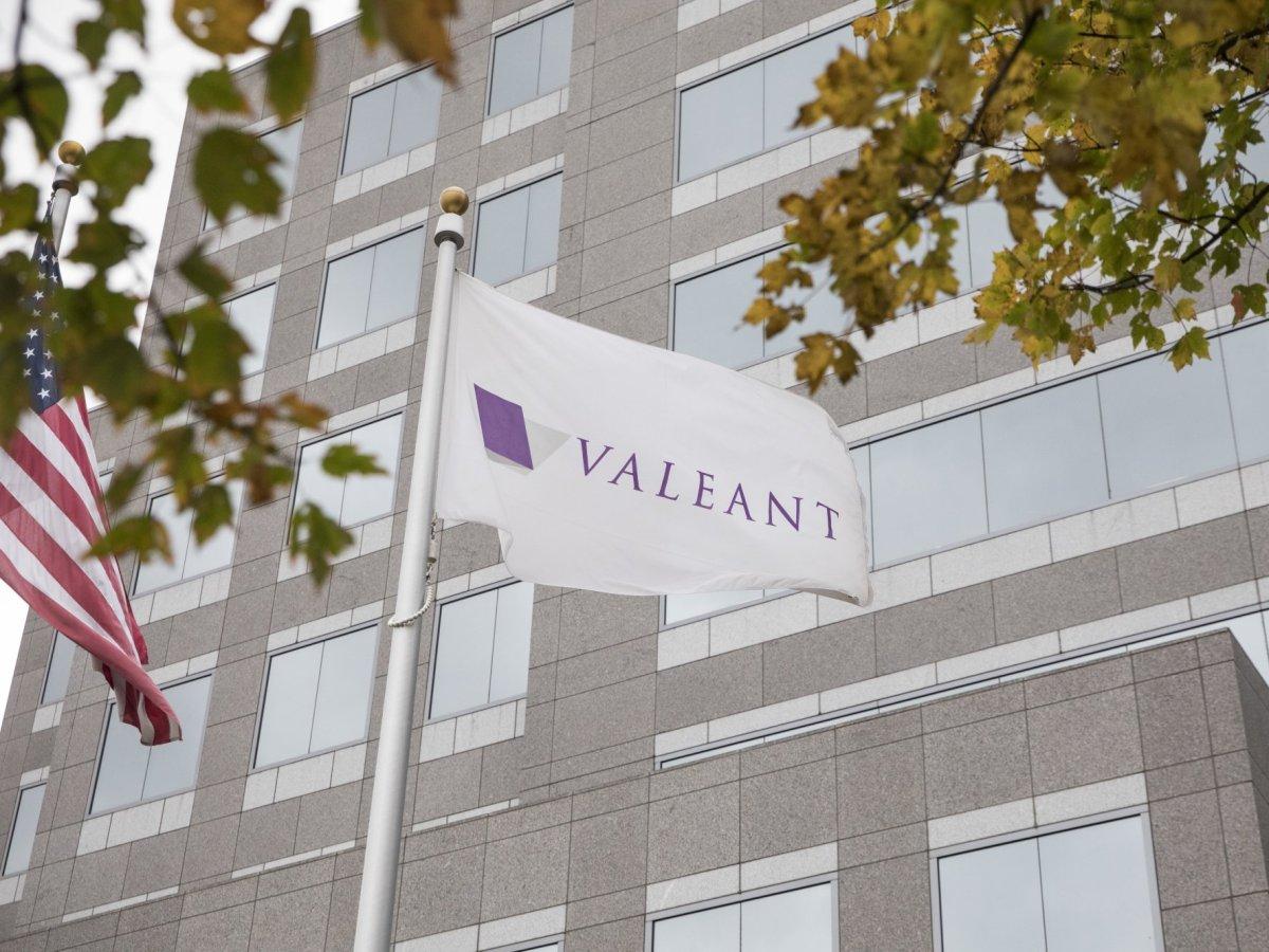 «Валеант фармасьютикалс интернешнл» (Valeant Pharmaceuticals International).