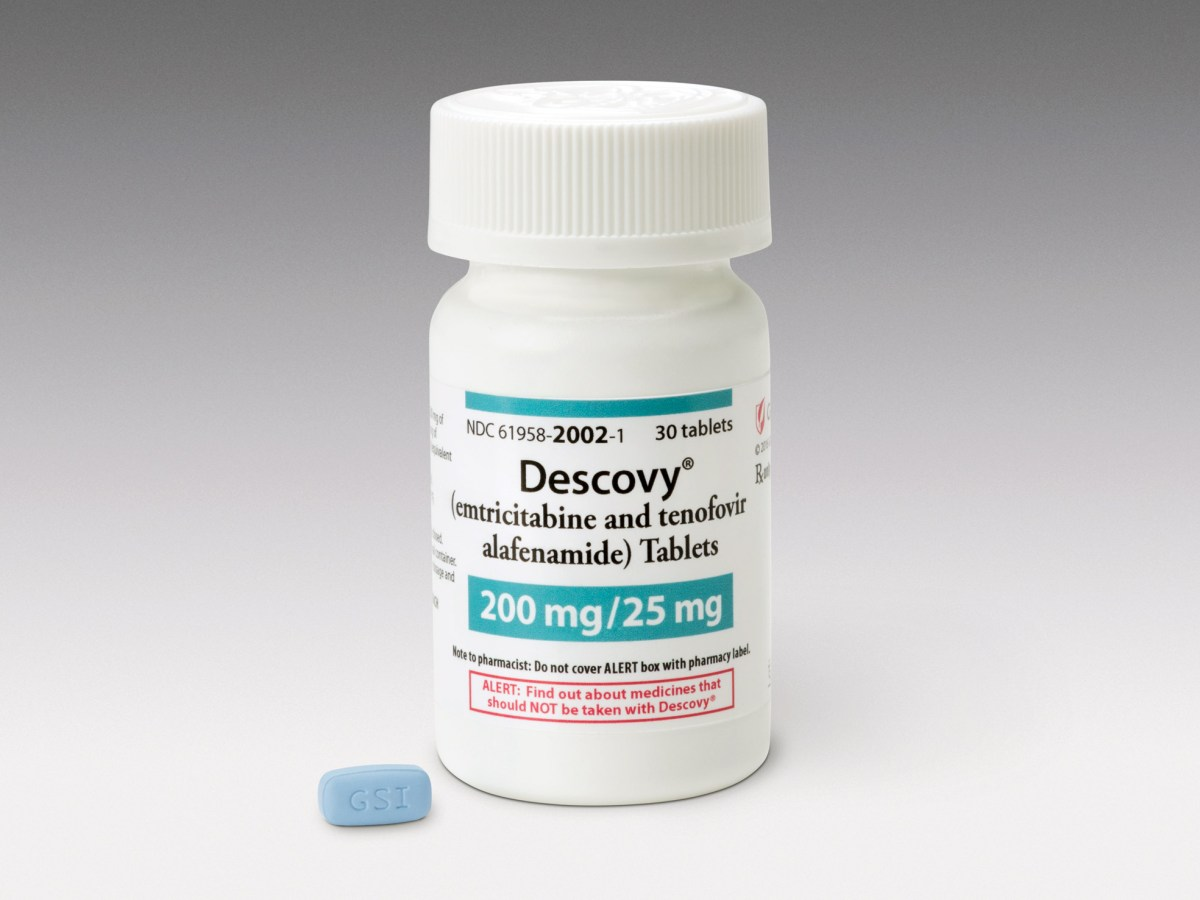 «Дескови» (Descovy, эмтрицитабин + тенофовира алафенамид).