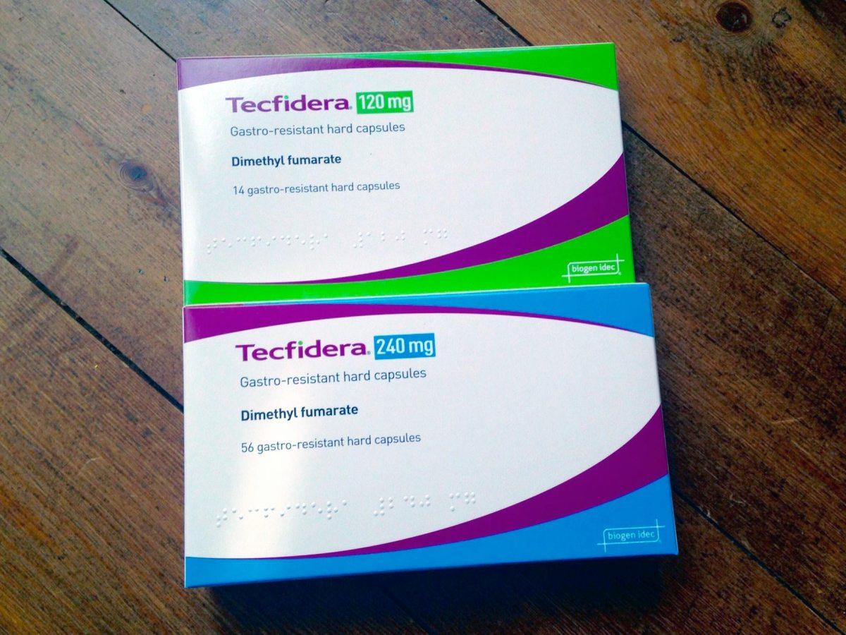 «Текфидера» (Tecfidera, диметилфумарат).