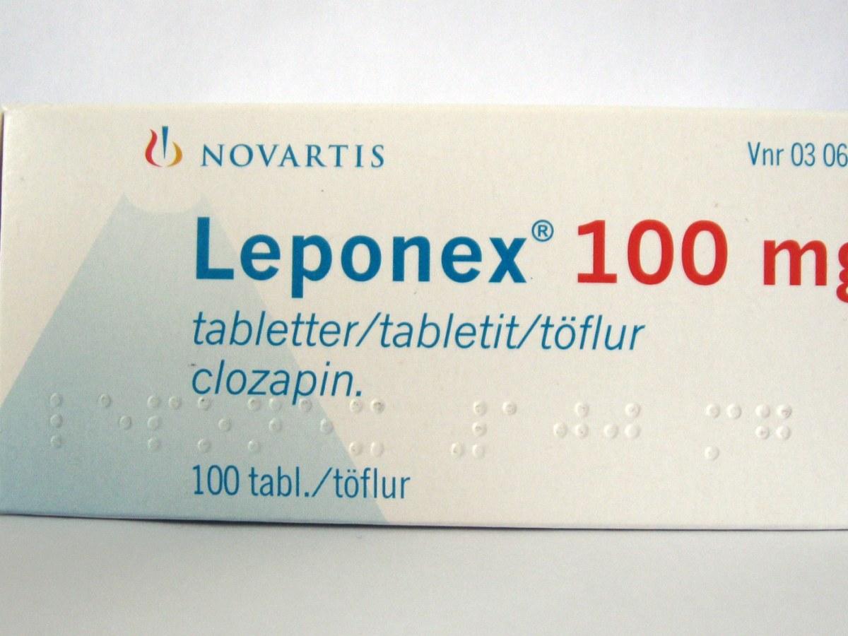 «Лепонекс» (Leponex, клозапин).