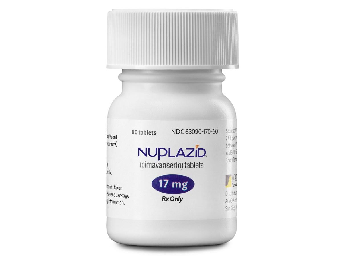 «Нуплазид» (Nuplazid, пимавансерин).