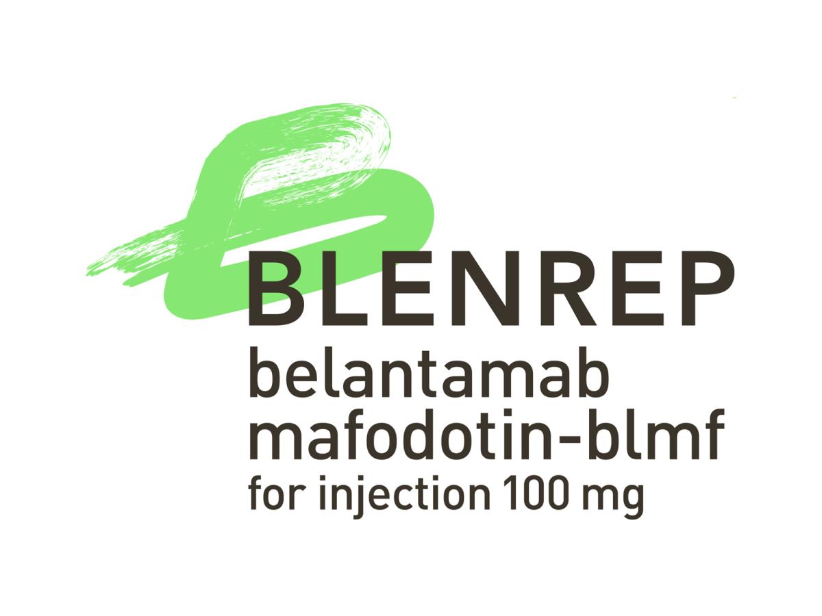 «Бленреп» (Blenrep, белантамаб мафодотин).