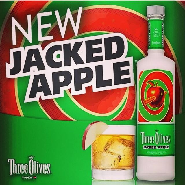 Three Olives Vodka Apple