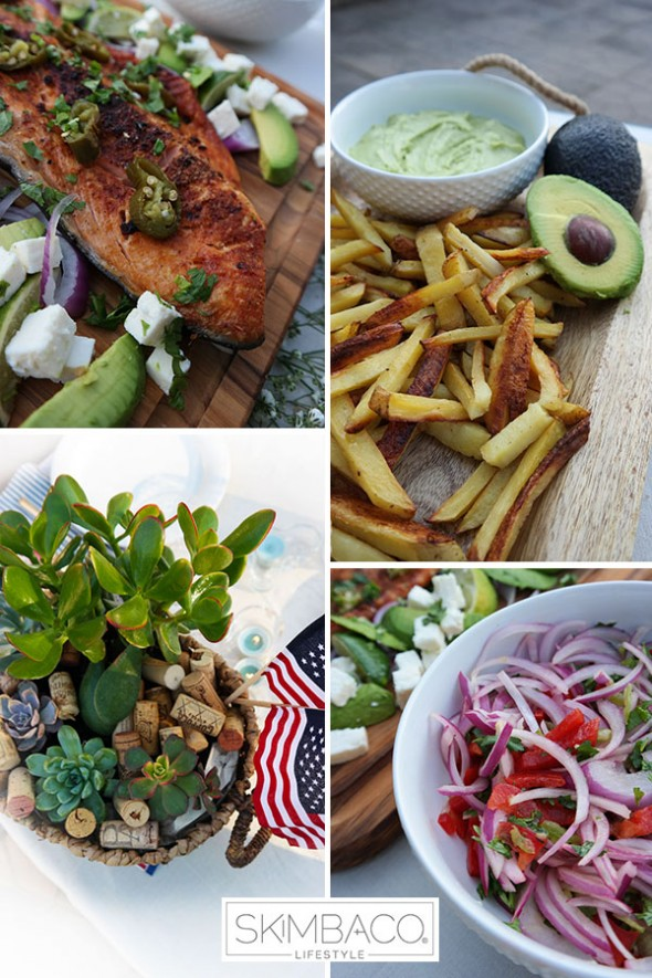 Happy 4th of July How-to Pull Off A Chic Healthy BBQ All MosnarCommunications