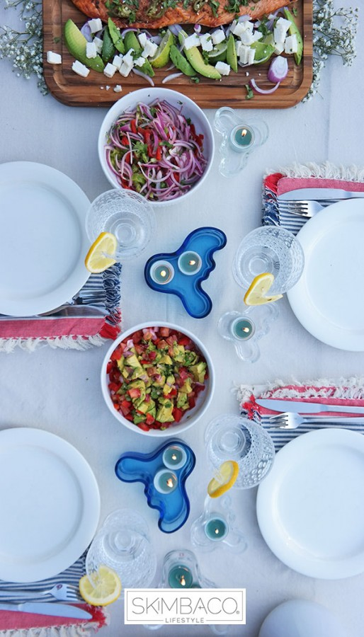 Happy 4th of July How-to Pull Off A Chic Healthy BBQ  Main MosnarCommunications