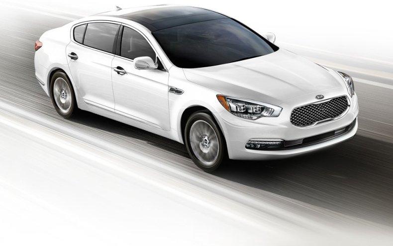 Kia K900 New Luxury Car MosnarCommunications