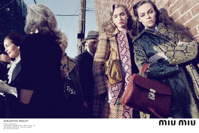 Miu Miu Fashion Fall Winter Campaigns 2015 Luxury Brand Ambassadors MosnarCommunications