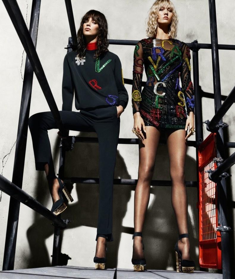 Versace Fashion Fall Winter Campaigns 2015 Luxury Brand Ambassadors MosnarCommunications