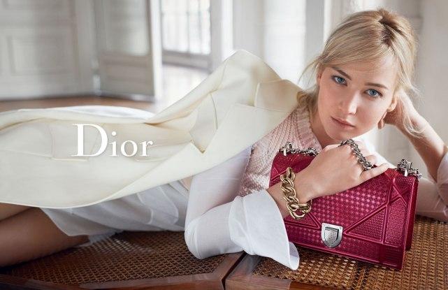 Jennifer Lawrence for Dior Spring Summer 2016 Mosnar Communicaitons