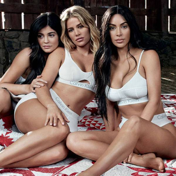 Kardashian Jenner Sisters For Calvin Klein In Our Family Campaign Mosnar Communications