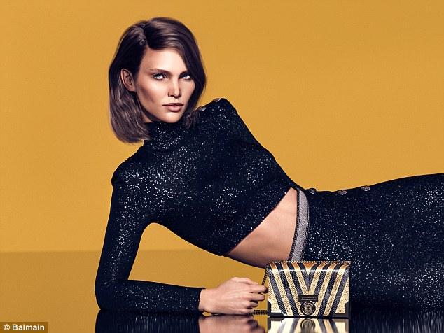Balmain CGI Luxury Brand Digital Models Mosnar Communications Margot