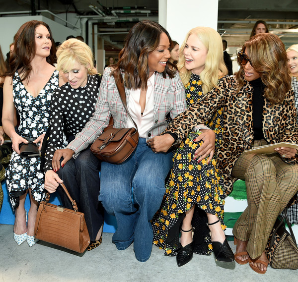 Catherine Zeta-Jones, Judith Light, Tiffany Haddish, Nicole Kidman, and Iman Michael Kors Mosnar Communications