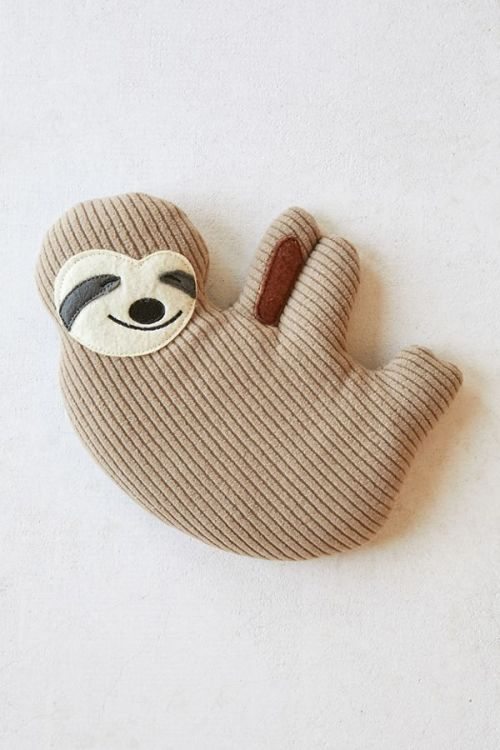 Huggable Sloth Cooling Heating Pad Mosnar Communications