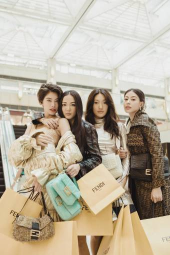 Fendi Celebrates Iconic Bag #BaguetteFriendsForever Campaign 2