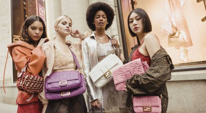 Fendi Celebrates Iconic Bag #BaguetteFriendsForever Campaign Mosnar Communications Main