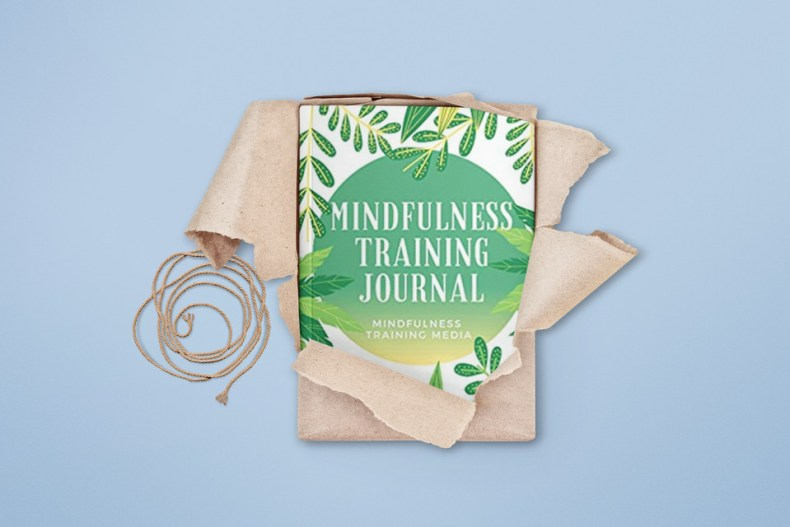 mindfulness_training_journal_holiday_promo_Mosnar Communications