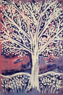 Oak Tree Series Composition 04 by Yuroz