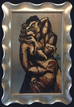 Impassionate Caress by Yuroz with frame