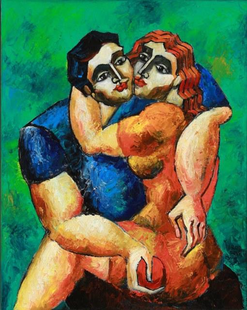 Lover's Embrace Study by Yuroz.