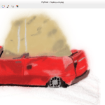MyPaint - Sydney Car