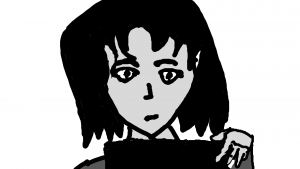 Kimi en el storyboard