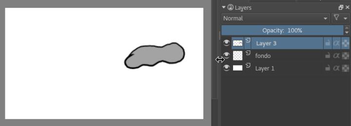 Nube con relleno