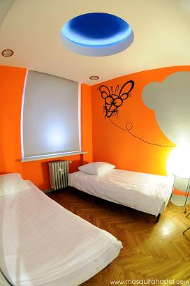 Mosquito Hostel's twin