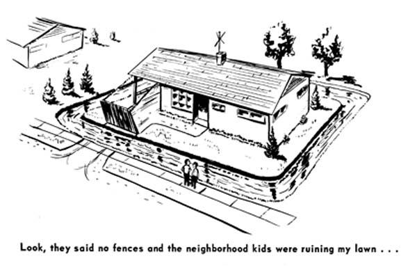 50_single family cartoon