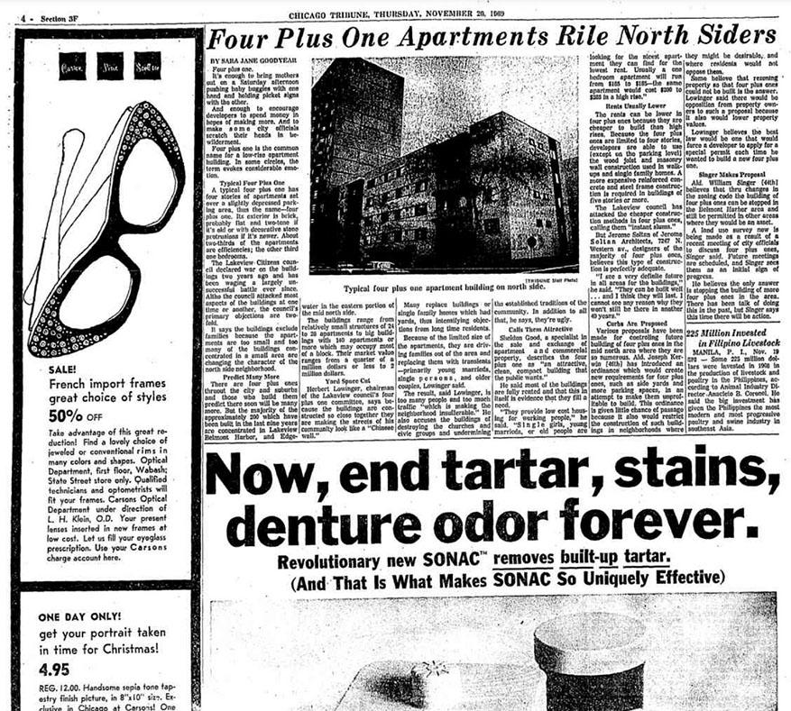 1969 tribune article