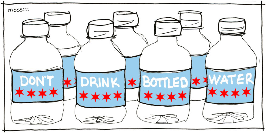 don't drink bottled water