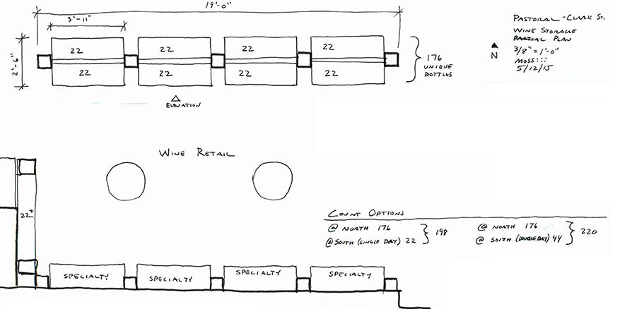 wine rack design plan