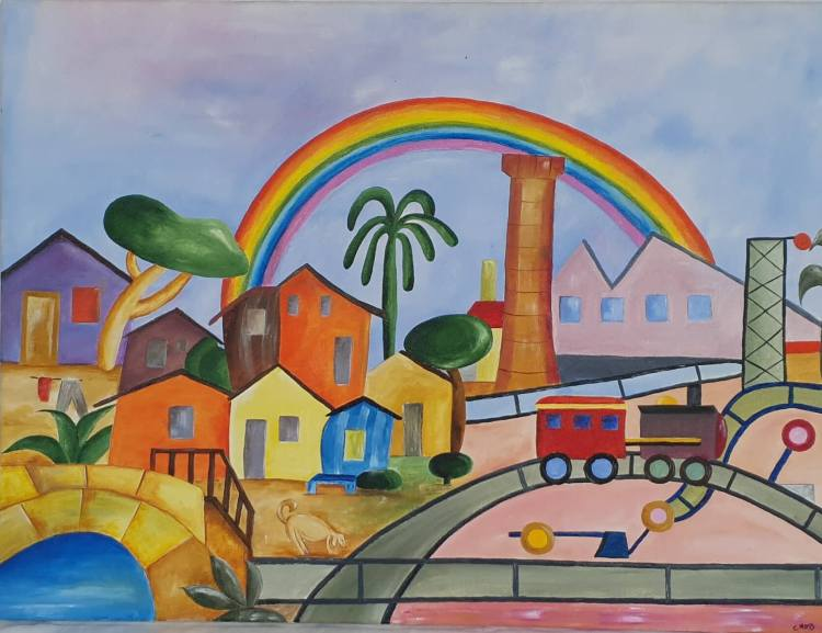 colourful scenery from cecilia meirelles