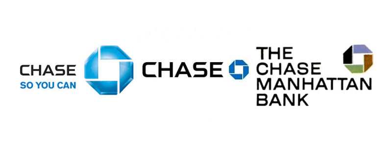 Chase Manhattan Bank Octagonal logos