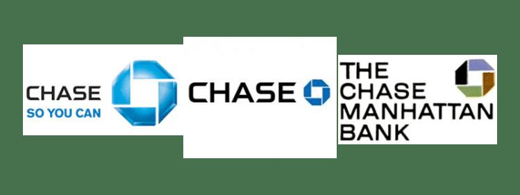 three Chase Manhattan Bank Octagonal logos