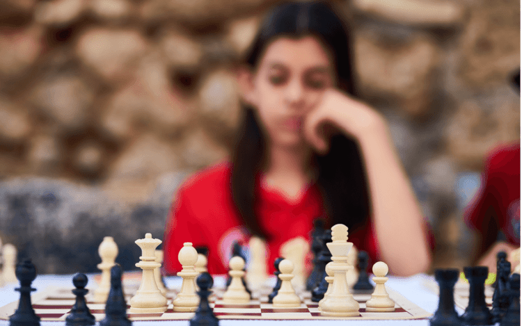 chess game to show elements of a proposal