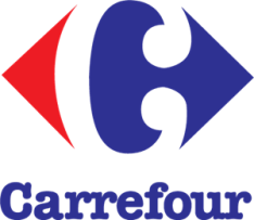 carrefour logo example of Gestalt Theory