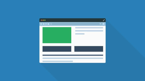 WordPress dashboard picture for website build