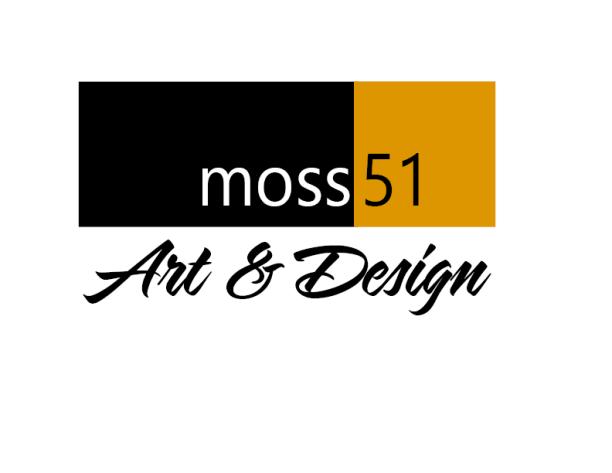 logo for Moss51 Art & Design