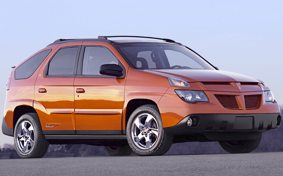 Ugliest cars ever - Pontiak Aztek
