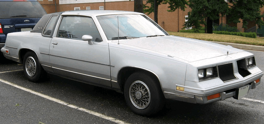 Ugliest cars ever - Oldsmobile Cutlass Supreme