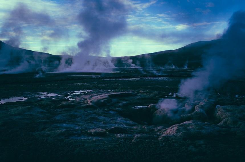 Chile geyser