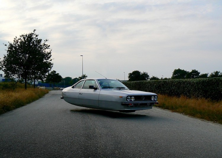 french hovercars // moss and fog