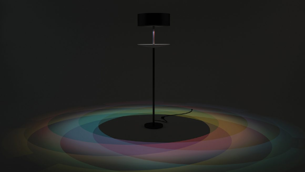 Rainbow Eclipse Lamp